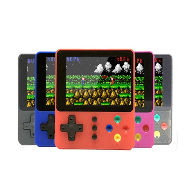 Handheld Video Games Console Built-in 500 Retro Classic Games 3.0 Inch Screen Portable Gaming Player Machine For Home Game