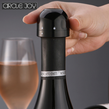 Circle Joy Sparkling Wine Mini Champagne Stopper Mini Wine Stopper Rotary Lock Vacuum Efficient Preservation Kitchen Home Use use of botanicals in palm wine preservation