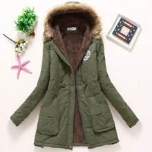 Зима 2020 Новая женская хлопковая стеганая Корейская одежда