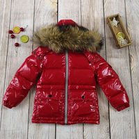 children's winter jacket 90% duck down toddler clothing kids parkas snowsuit for baby boys girls 80 145 cm outerwear coat
