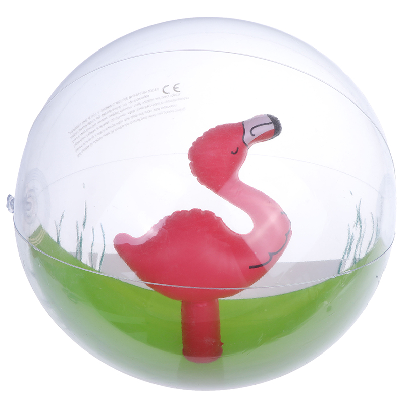 Inflatable Transparent Beach Ball For Outdoor Swimming Pool Water Playing Ball Play Water Beach Toys