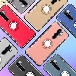 Shockproof Armor Case For Xiaomi Redmi Note 8 7 6 Pro 6A Cover Finger Ring Holder Phone Case For Xiaomi 8 Lite 8 SE 6X 6 Funda