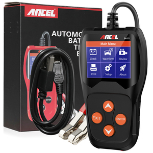 Image 5 - ANCEL BA201 Auto 12V Batterie Tester Analysieren 220Ah 2000CCA Spannung Laden Schnell Ankurbeln Lade Auto Diagnose Batterie Test