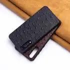 Ostrich Skin Phone Case For Huawei Mate 20 10 9 Pro P10 P20 Lite Soft TPU Edge Cover For Honor 8X Max 9 10 Nova 3 3i Capa - 1