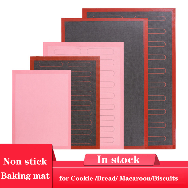 Multi-Size Perforated Silicone Baking Mat Non-Stick Baking Oven Sheet Liner for Cookie /bread/ Macaroon/biscuits Kitchen Tools