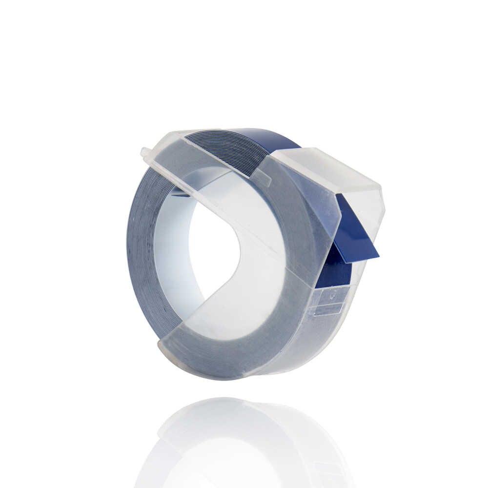 CIDY 5pcs סגול כחול צבע 9mm * 3m תואם DYMO 3D פלסטיק הבלטות קלטת הבלטות תווית יצרנית עבור DYMO 1610/1575 Motex E101