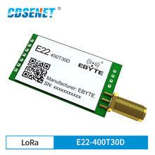 New LoRa  Semtech SX1268 433MHz rf Transceiver Module E22-400T30D 30dBm 1W Long Range UART DIP Serial Port Module