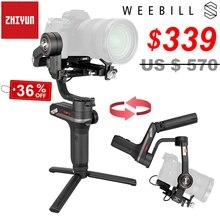 Zhiyun Weebill S 3 axes Image Transm caméra stabilisateur de cardan de poche pour presque tous les appareils photo sans miroir Maxload 3Kg avec OLED