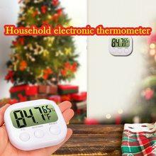 Цифровой гигрометр-термометр juneday, комнатный монитор температуры и влажности с ЖК-экраном для дома и офиса