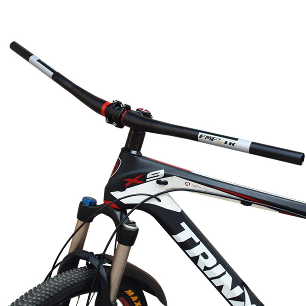 FMF MTB Bicycle Handlebar 720//780*31.8mm downhill Racing Bike Rise Handle Bar