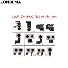 10Pcs Originele 100% Test Werken Camera Back Rear Met Flash Module Sensor Flex Kabel Voor Iphone 7 8 Plus
