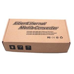 Image 5 - Gigabit Fiber Optic Media Converter 1000Mbps SC Singlemode Duplex Fiber Optic Konverter 20km Gigabit Fiber Optic Media Converter