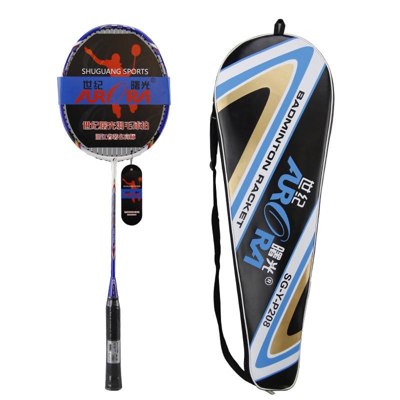 Furra Official Genuine Badminton Racket Carbon Fiber Adult Teenager Children's Tournament 1 Installed-