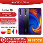 Lenovo Z5s смартфон с 6,3-дюймовым дисплеем, восьмиядерным процессором Snapdragon 710, ОЗУ 64 ГБ, ПЗУ 128 ГБ