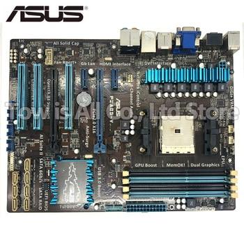 original motherboard ASUS F2A85-V Socket FM2 DDR3 USB2.0 USB3.0 64GB HDMI VGA DVI A85X Desktop motherboard Free shipping