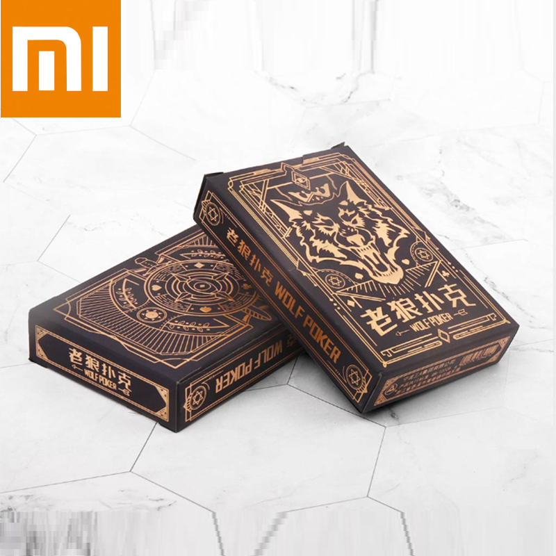 Xiaomi Mijia Playing Cards Poker Board Games Werewolf Kill Game Playing Cards  Party Gathering Game Cards Wolf Poker