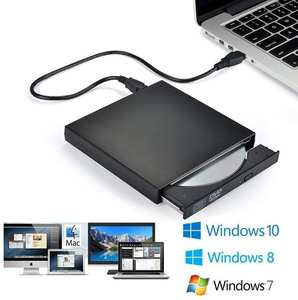 Burner Writer Laptop Dvd-Rom External-Hard-Drive Cd-Rw Macbook USB for PC Pro Intelligent-Burning