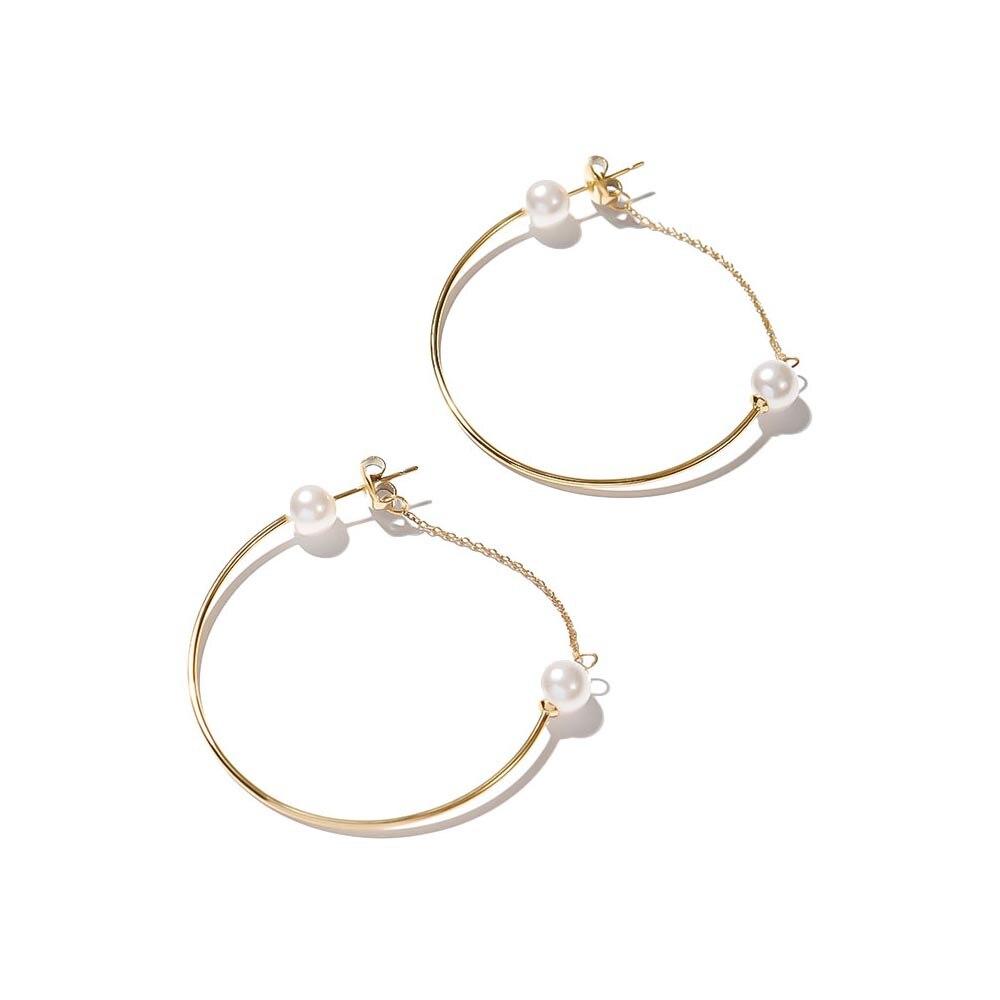 Jewelry Hoop Earrings Exclaim for womens 035G2592E Jewellery Womens Earrings Jewelry Accessories Bijouterie fringe tassel hoop drop earrings