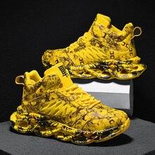 Nieuwe Loopschoenen Voor Mannen Jogging Sneakers Voor Mannen Air Sole Ademend Mesh Lace Up Outdoor Training Sportschoenen