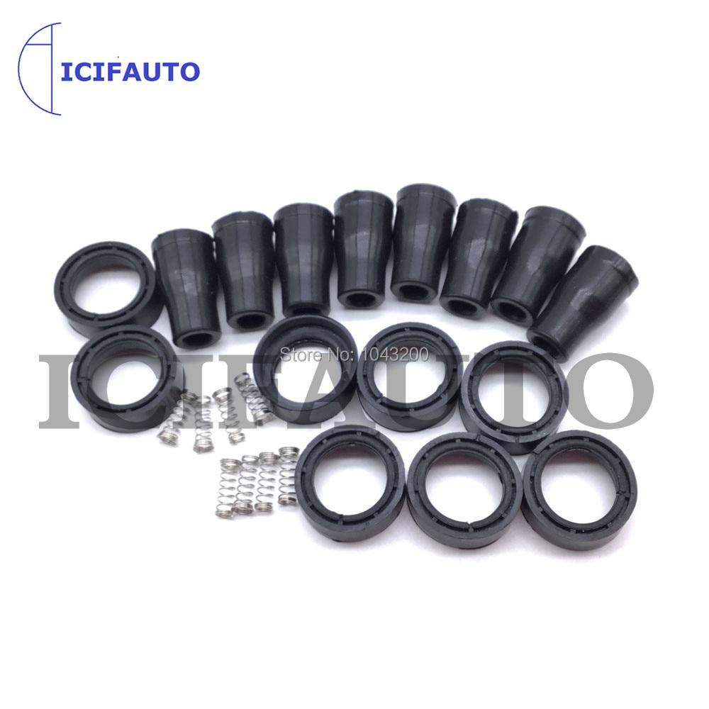 Резиновая катушка зажигания автомобиля 1, 4, 8 для Hyundai Genesis Santa Fe Sonata Kia Optima Sorento K900 27300-3F100 27300-2G000 27300-2F000