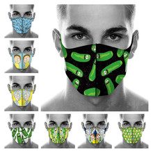 Cosplay Masks Morty Sports Half-Face-Dust-Proof-Mask Washable Adult Kids Rick New And
