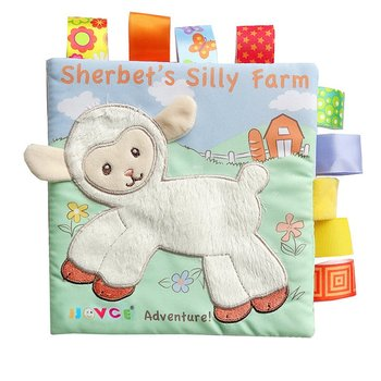 Baby Soft Cloth Books Infant Boys Girls Educational Toys For Newborn Learning Night Story Book