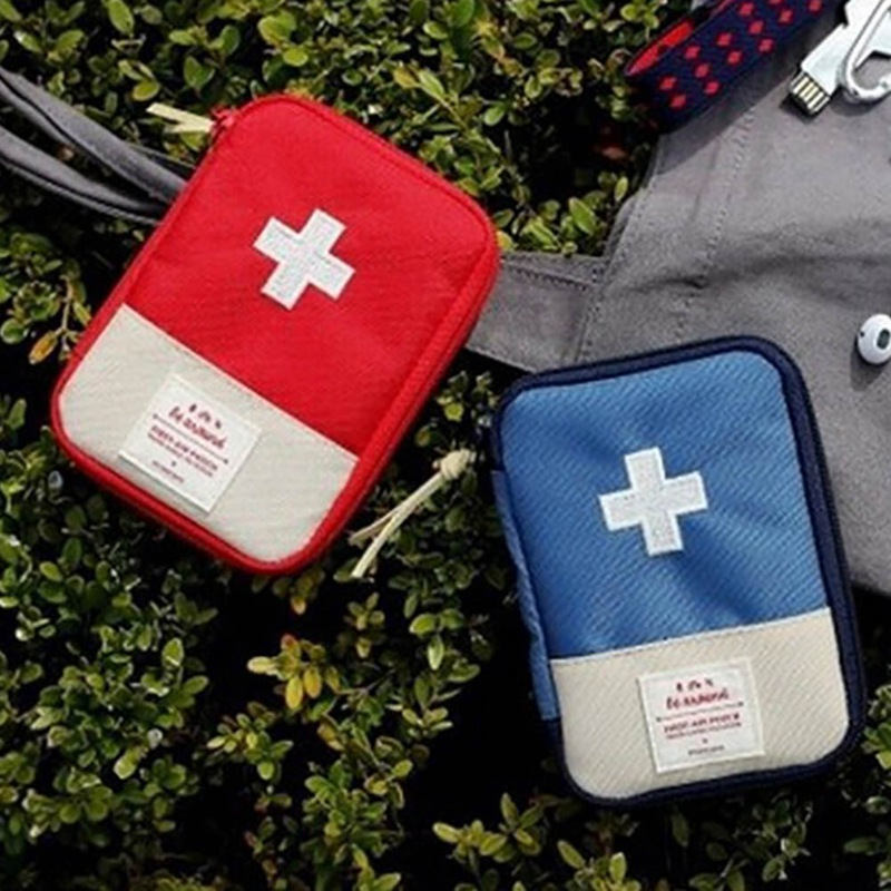 Travel Portable Medical Kit First Aid Emergency Medicine Bag Outdoor Survival Organizer Emergency Kits Package