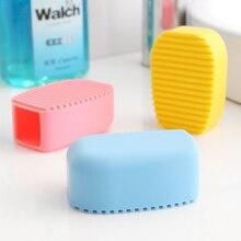 Яркие цвета, ручная Толстая силиконовая щетка для мытья, мини-доска для мытья, небольшая пластиковая доска для мытья