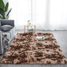Tapis pais verser salon tapis en peluche enfants lit chambre tapis de sol moelleux fentre chevet décor la maison tapis doux tapis