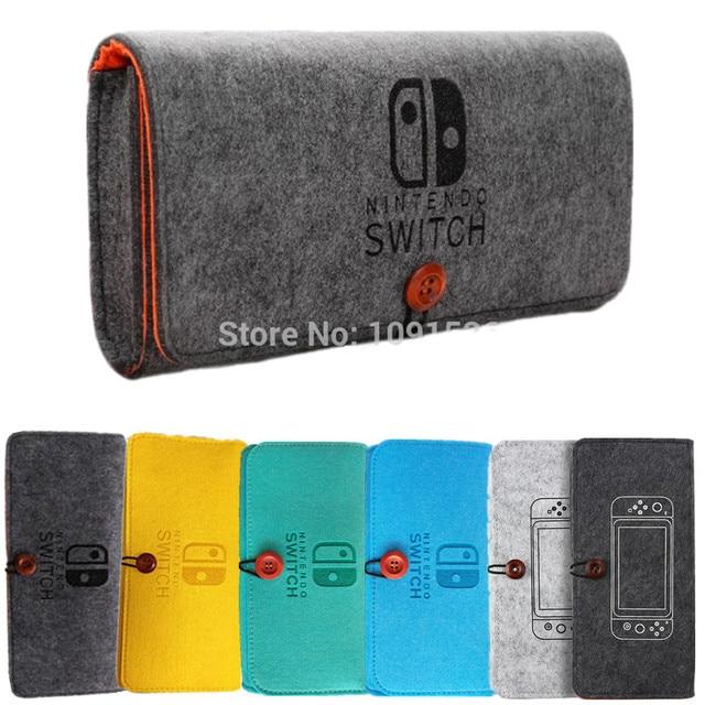 אחסון תיק עבור Nintendos מתג קונסולת פיקה מקרה עמיד תיק נשיאה עבור Nintend לייט NS מתג משחק קונסולת הרגיש שקית