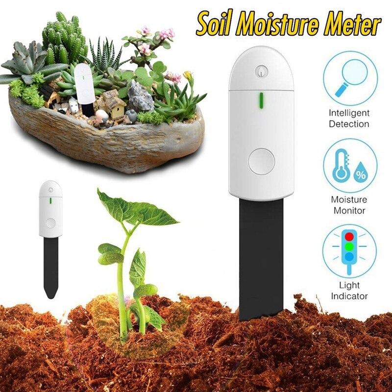 Ligent Land Moisture Detector Plant And Flower Land Instantaneous Moisture Hygrometer Horticulture Detector