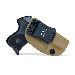 Image 1 - BBF Make IWB KYDEX נרתיק אישית מתאים: רוגר LCP 380 אקדח מקרה בתוך הסתיר לשאת חגורת אקדח פאוץ עם חגורת קליפ
