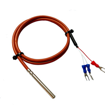 max31865 platinum resistance temperature detector module rtd sensor pt100 and pt1000 temperature sensor Pt1000 temperature sensor three wire  platinum thermal resistance waterproof silicone wire shield cable