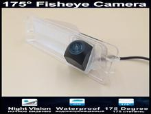 175 Degree 1080P Fisheye Car Rear view Camera Parking Reverse For Nissan March Renault Logan Sandero W