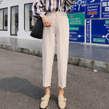 JUJULAND women elegant solid pants sashes pockets zipper fly design office wear trousers female casual long pantalones 876