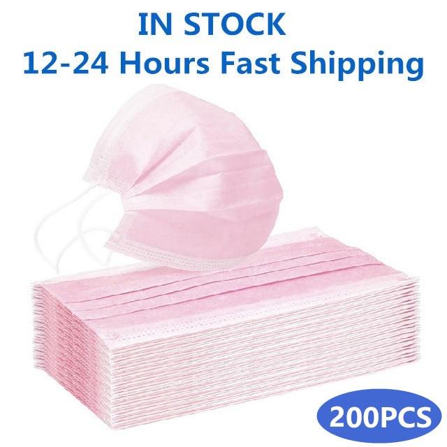 Pink-200PCS