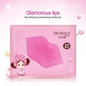 1 шт., гелевая маска для губ, уход, увлажнение восстановление, удаление линий, осветление губ, коллагеновая маска, цвет губ для увлажнения TSLM1