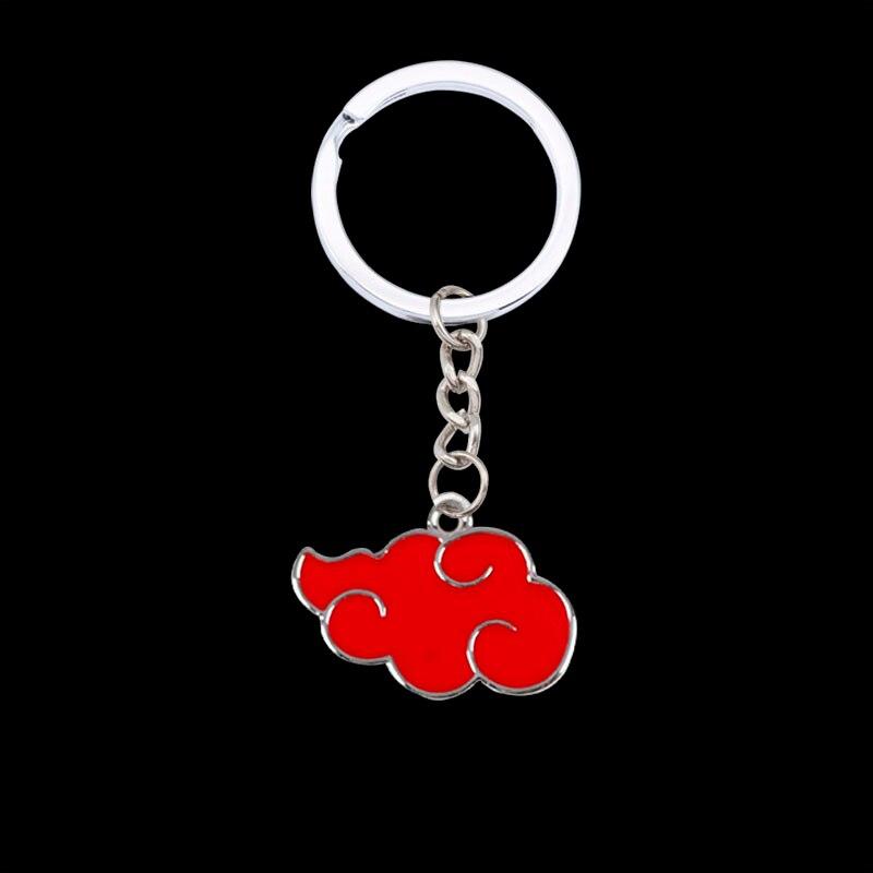 2020 Japanese Anime Cosplay Organization Akazuki Chiyun Logo Metal Pendant Keychain Ladies Men's Bag Key Chains Gifts