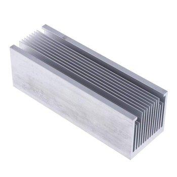 1pcs Aluminum Heatsink LED Heatsink 50x50-200mm Heat Sink Profiles Aluminum Color  Chassis  Radiator Aluminum