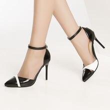 Stilleto/летние босоножки на высоком каблуке; Женская пикантная