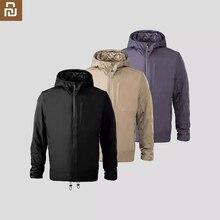 Aerojel soğuk takım elbise ceket Parka Youpin rüzgar geçirmez su geçirmez malzeme kapşonlu hafif için uzay takım şiddetli soğuk anti soğuk uzun kaban