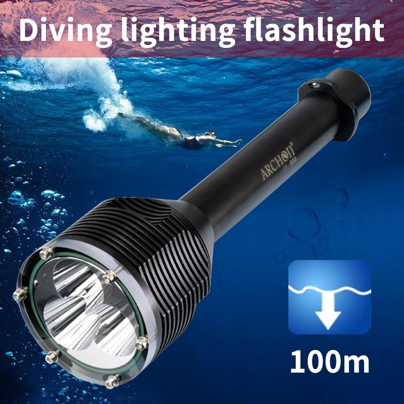 dwaterproof agua 100m subaquatica por 22650 bateria 03