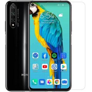 Image 3 - Huawei honor 20 10 pro 9x 8x protetor de tela, mate de vidro temperado 20 x, protetor nillkin 9h duro, segurança transparente vidro em huawei p30 p20 lite