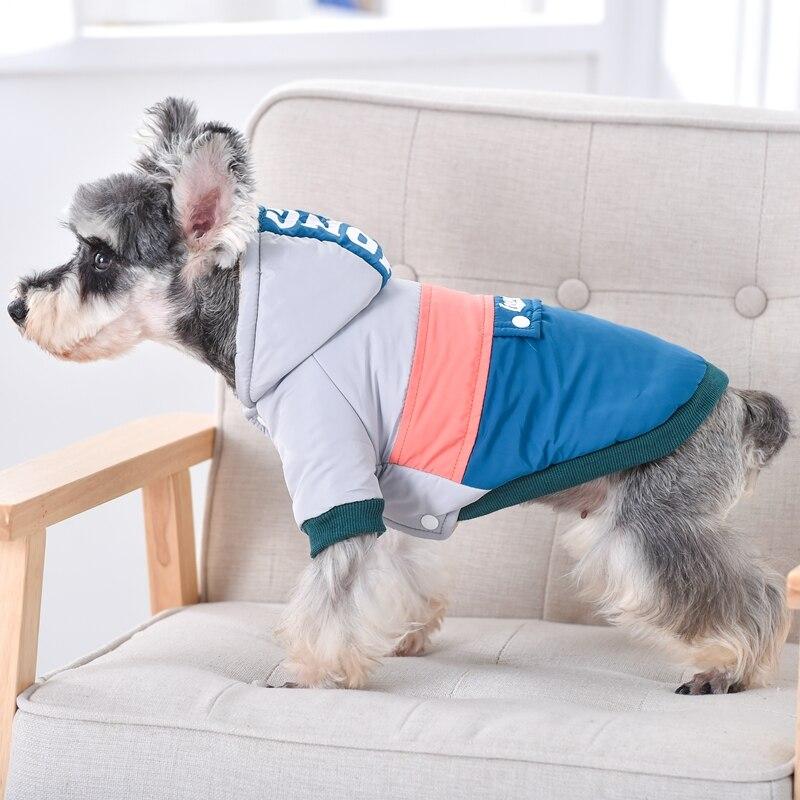 Зимний лыжный костюм Splice, одежда для мопса, теплая зимняя одежда для домашних животных XS XXL, пальто для щенков среднего и маленького размера, куртка, костюм Французского бульдога, терьера-1