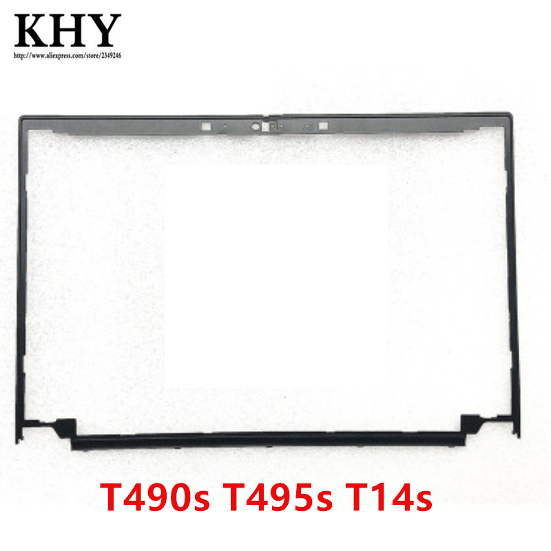 Shell Frente Tampa Moldura suporte LCD original Para Thinkpad T490s T495s T14s 02HM500 AP1BR000600