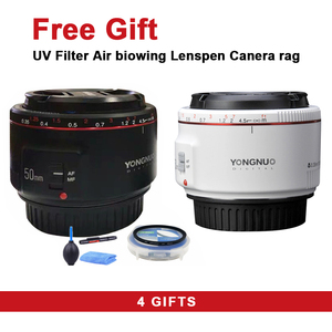 YONGNUO YN50mm F1.8 II Lens Standard Prime Lens Large Aperture Auto Focus Camera Lens for Canon EOS 70D 5D2 5D3 600D DSLR Camera(China)