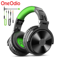 Oneodio Gaming Headphones Over Ear Wired Stereo Headset With Microphone For PS4 Xbox One Phone PC Gamer Studio DJ Headphone cheap Over the Ear Dynamic CN(Origin) 110±3dBdB None 2 2mm For Mobile Phone For Internet Bar for Video Game Monitor Headphone