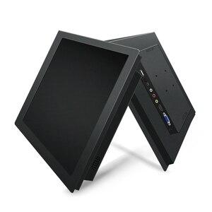 15 Cal wyświetlacz do pc pulpitu monitor lcd tabletu VGA DVI HDMI USB 1024*768 ekran dotykowy odporność klamry montażu