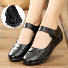 Mom Shoes Hot-Sales Flats Non-Slip Brand Loafers Fashion Women Adult Casual Zapatos-De-Muje