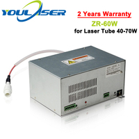 High Quality ZR-60W Co2 Laser Power Supply 60w for Co2 Laser Engraving and Cutting Machine